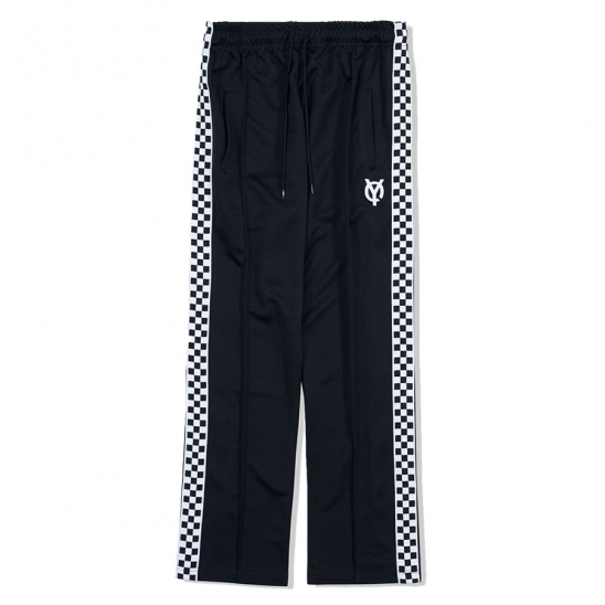 TAPE PANTS-BLACK