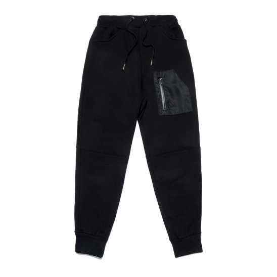 STGM TECH HEAVY SWEAT JOGGER PANTS BLACK