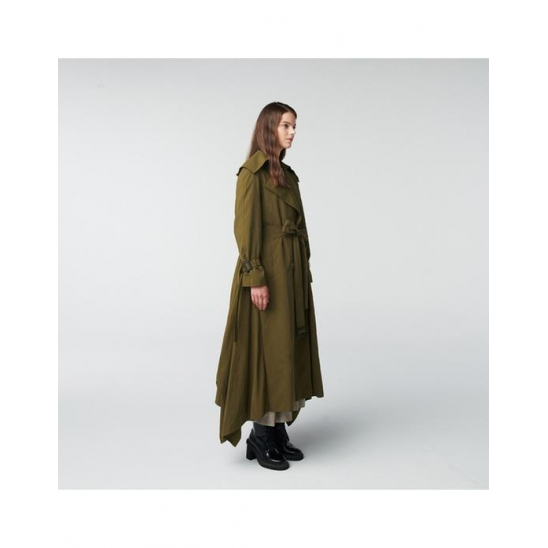 TOSE  WING TRENCH LONG COAT