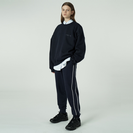 [L]Gmt jogger pants-navy