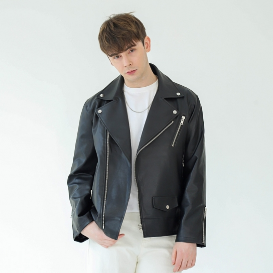 GREAT OVER-FIT RIDER JACKET (BLACK)