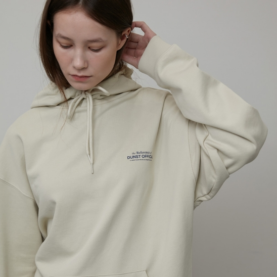 UNISEX REFERENCE HOODIE CREAM_UDTS0E103CR