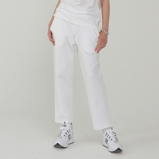 LV Double pants_white