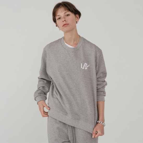 LV Lady sweat MTM_gray