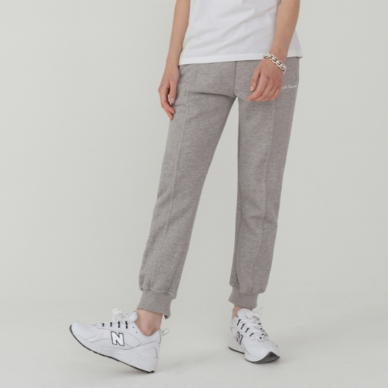 LV Essential logo sweat pants_gray