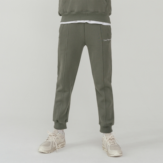LV Essential logo sweat pants_khaki