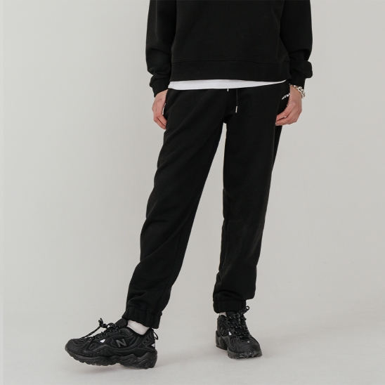 LV Lady sweat pants_black