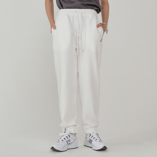 LV Lady sweat pants_white