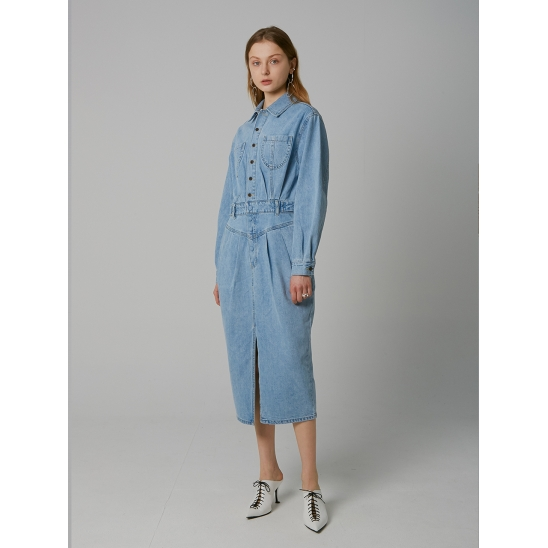 SHIRTS STYLE DENIM LONG OPS