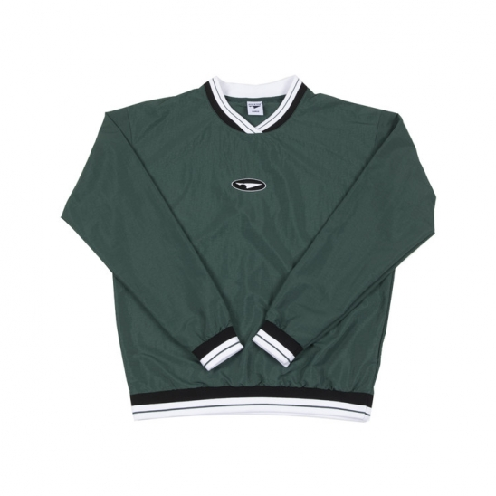 Coach's Pullover H.Green
