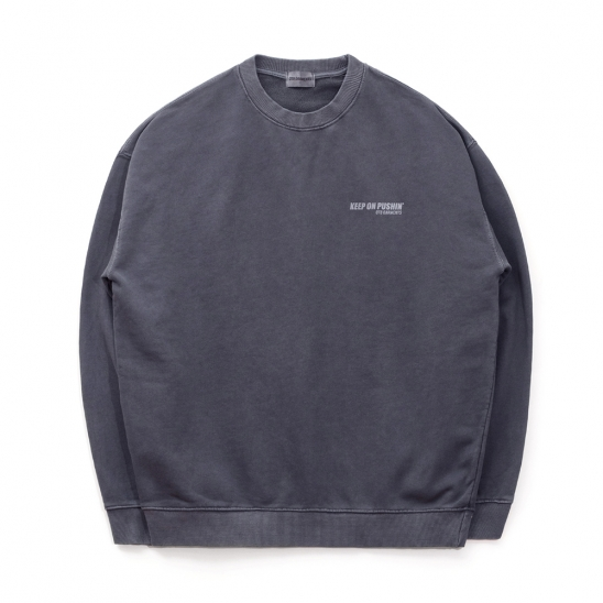 ND Pigment Sweat Shirt (Navy)