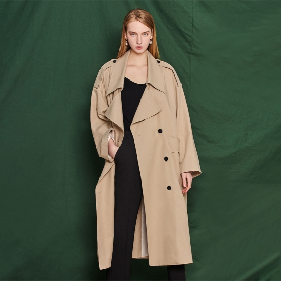 Unique trench coat - beige