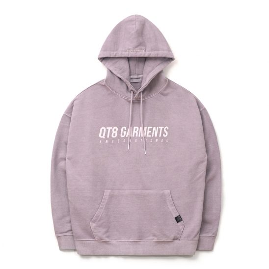 ND I.T Pigment Hood Tee (Light Purple)
