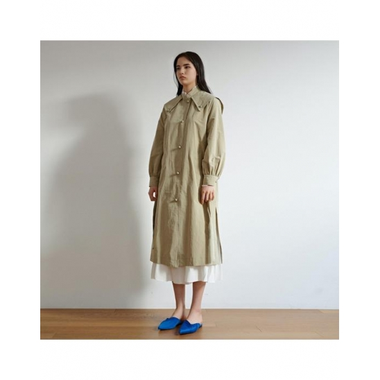 [미테]SAILOR DIANA TRENCH COAT_OLIVE