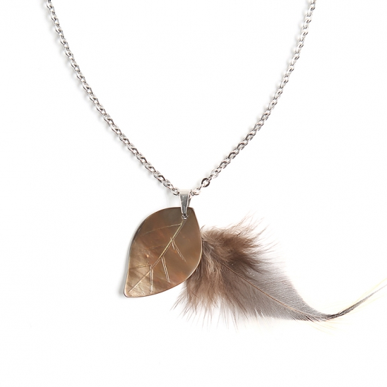 Feather Necklace(SILVER)