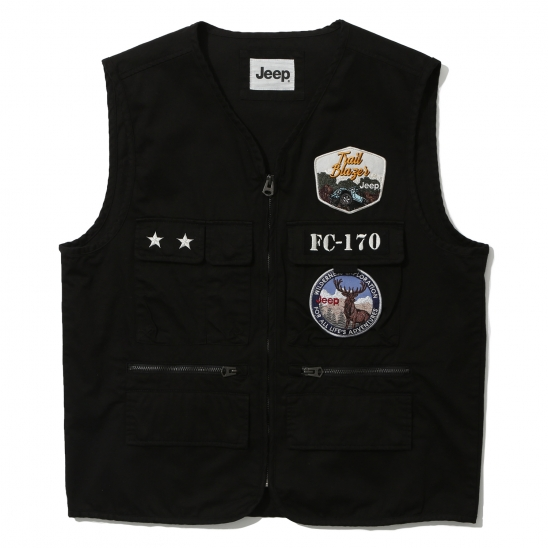 Multi Pocket Vest (GL2JPU601BK)