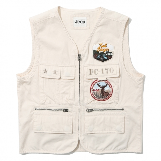 Multi Pocket Vest (GL2JPU601IV)