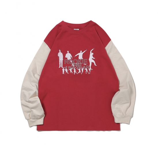 Rookie Card Long Sleeve Red