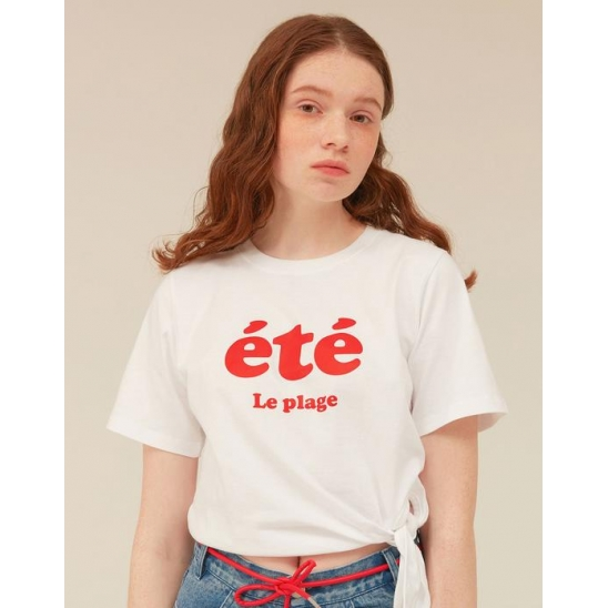 [OiOiCOLLECTION] ETE KNOT T-SHIRTS_WHITE