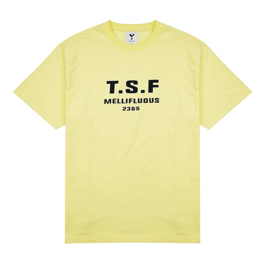 23.65 TSF SHORT SLEEVE T-SHIRT YELLOW