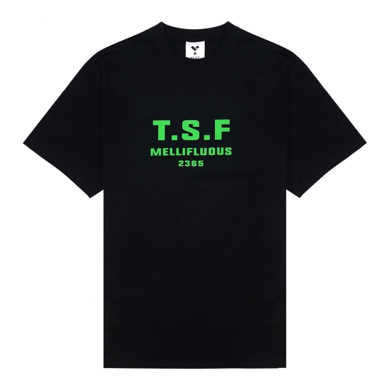 23.65 TSF SHORT SLEEVE T-SHIRT BLACK/GREEN