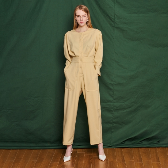 Jump suit - yellow