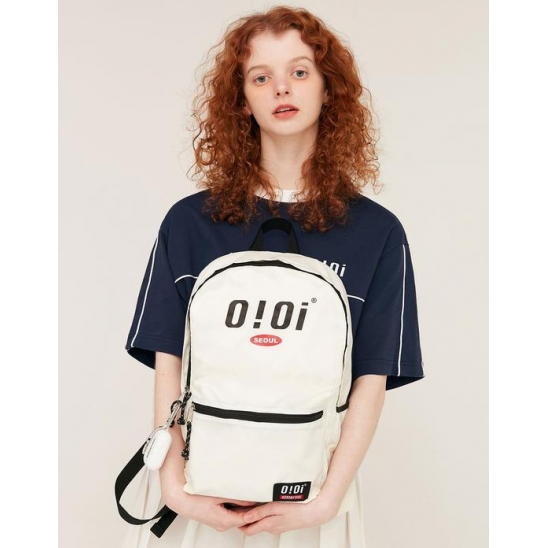 BASIC LOGO BACKPACK_IVORY