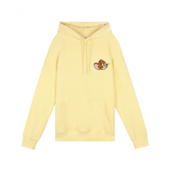 [SS20 Stereo & Jerry] Boucle Face Hoodie(Yellow)