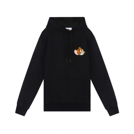 [SS20 Stereo & Jerry] Boucle Face Hoodie(Black)