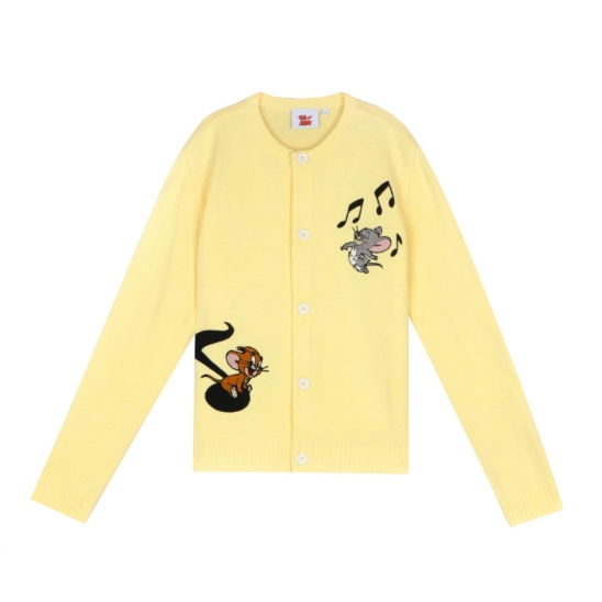 [SS20 Stereo & Jerry] Roundneck Cardigan(Yellow)