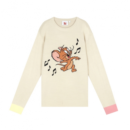 [SS20 Stereo & Jerry] Jaquard Knit(Beige)