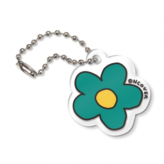Flower-green(key ring)