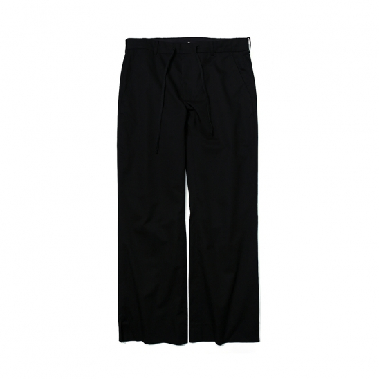 RELAXED TROUSERS BLACK