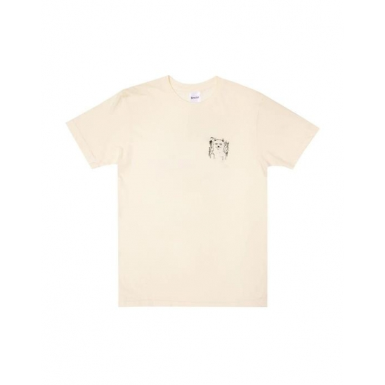 Fingered Tee - Natural