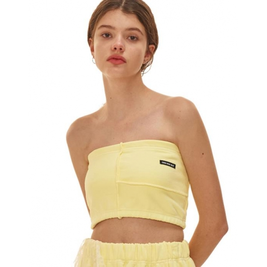 FRST tube top_yellow