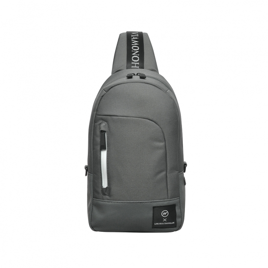 SPACE SLING BAG (GRAY)