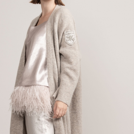 Oversize Mohair Middle