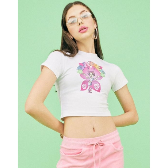 BUTTERFLY GRAPHIC T-SHIRT [WHITE]