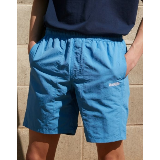 ALL-DAY SUMMER SHORTS SKY BLUE