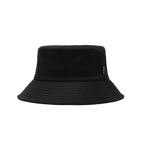 SIDE LABEL bucket hat [black]