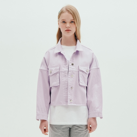 TWO POCKET JACKET_LAVENDER
