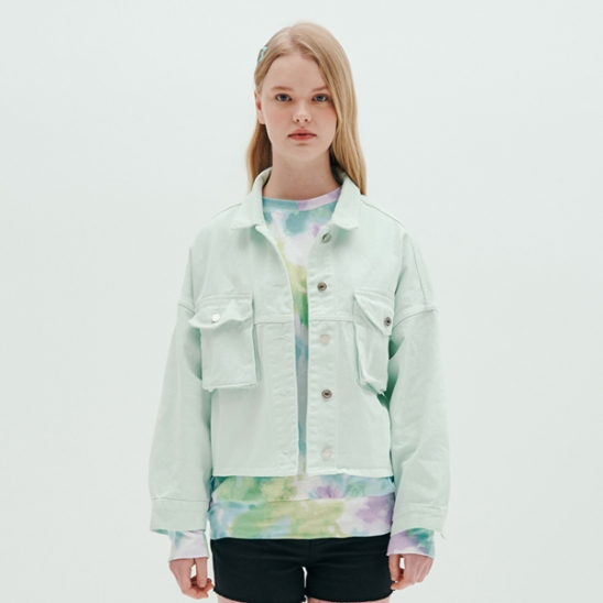 TWO POCKET JACKET_MINT