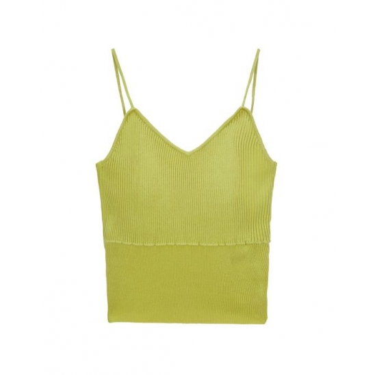 SLEEVELESS TOP LIGHT GREEN