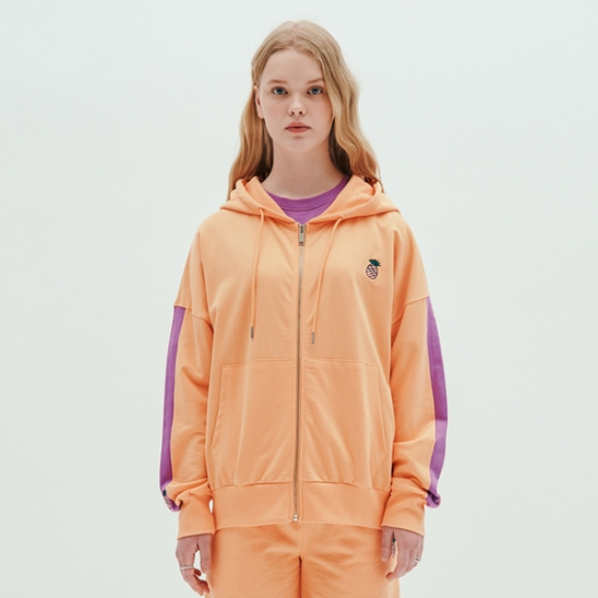 COLOR HOODIE JUMPER_ORANGE