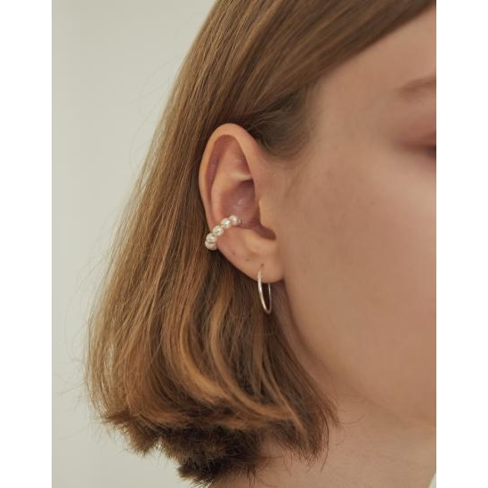 PEARL CLIP-ON EARRING (WHITE)