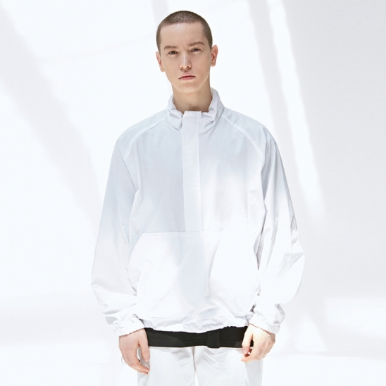 [COUCOU] LIGHT TECH ANORAK_IVORY
