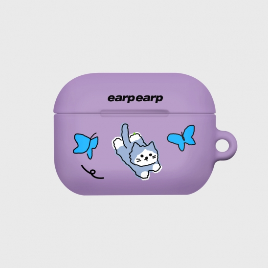 Awesome cat-purple(Hard air pods pro)