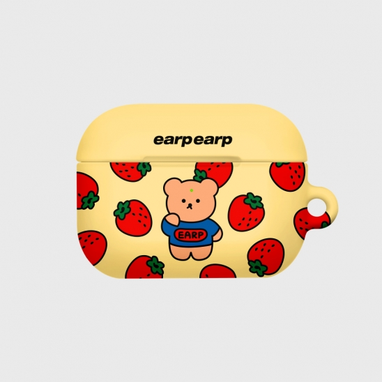 strawberry bear-yellow(Hard air pods pro)