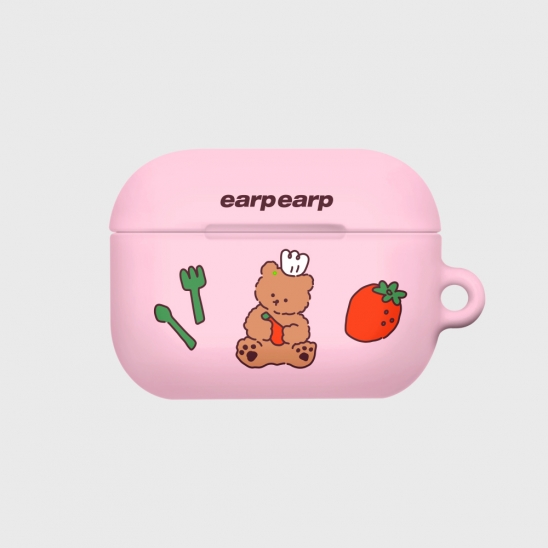 strawberry time-pink(Hard air pods pro)