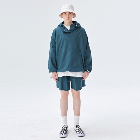 [COUCOU] TRAINING TRACK ANORAK SET UP_GREEN